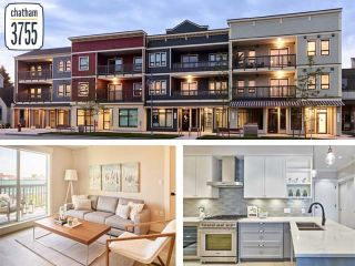 "Main Photo: 205 3755 CHATHAM Street in Richmond: Steveston Village Condo for sale in ""CHATHAM 3755"" : MLS®# R2509650"