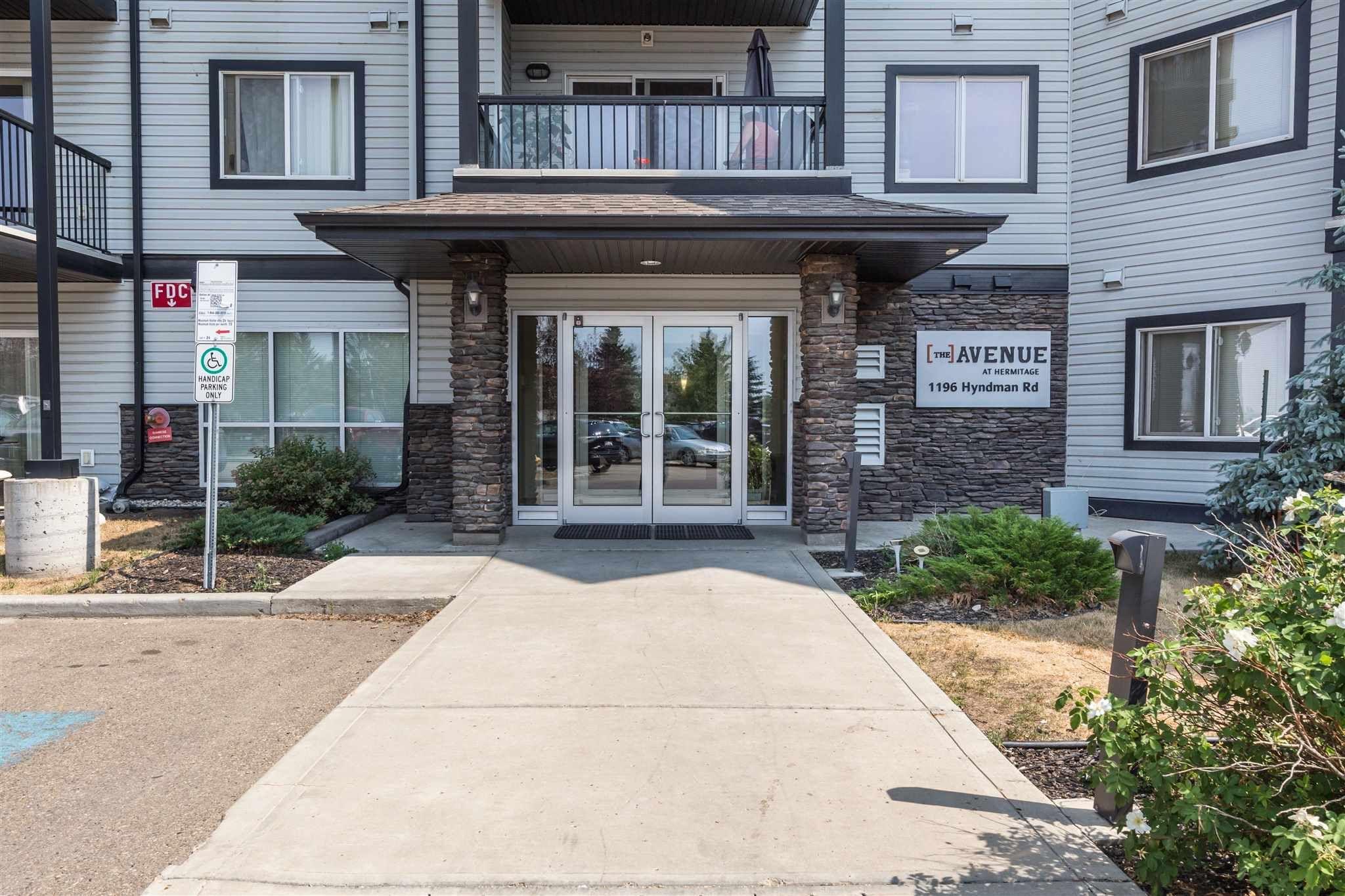 Main Photo: 144 1196 HYNDMAN Road in Edmonton: Zone 35 Condo for sale : MLS®# E4255292