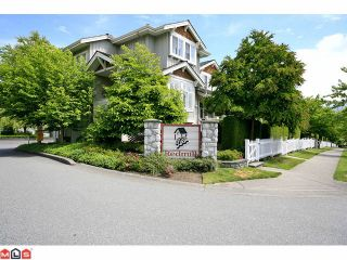 "Photo 1: 58 14877 58TH Avenue in Surrey: Sullivan Station Townhouse for sale in ""Redmill"" : MLS®# F1114947"