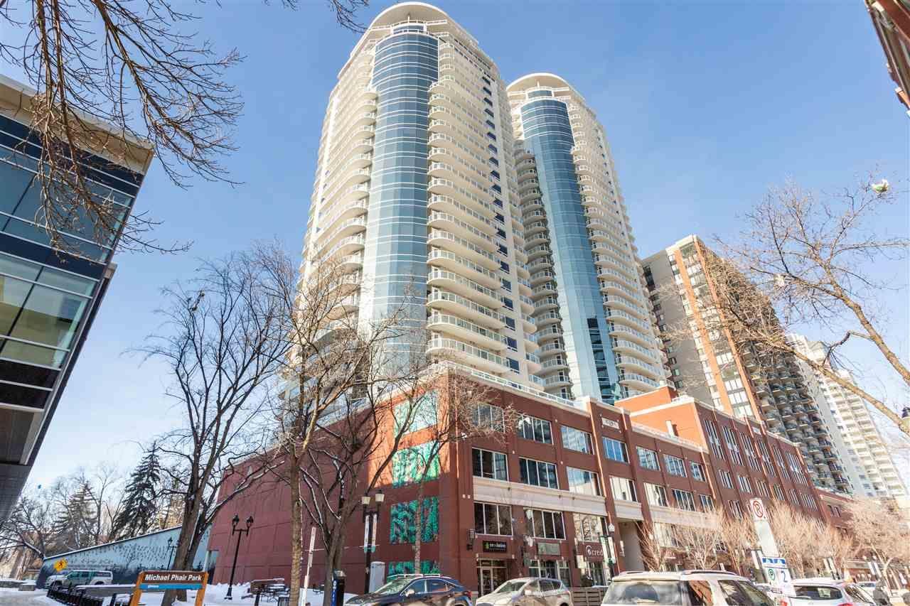 Main Photo: 803 10152 104 Street in Edmonton: Zone 12 Condo for sale : MLS®# E4264341