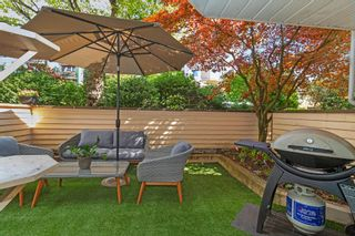 "Photo 17: 101 123 E 6TH Street in North Vancouver: Lower Lonsdale Condo for sale in ""HARBOURGATE"" : MLS®# R2364777"