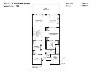 Photo 40: 502 1275 HAMILTON STREET in Vancouver: Yaletown Condo for sale (Vancouver West)  : MLS®# R2510558