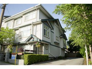 Photo 1: 18 22466 NORTH Avenue in MAPLE RIDGE: East Central Townhouse for sale (Maple Ridge)  : MLS®# V1064439