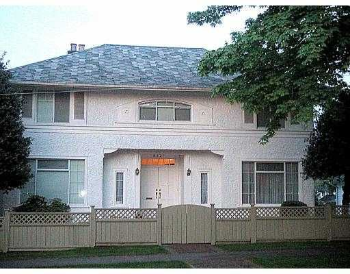 Main Photo: 4328 HUDSON ST in Vancouver: Shaughnessy House for sale (Vancouver West)  : MLS®# V539968