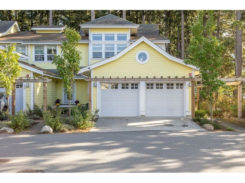 """Main Photo: 49 44849 ANGLERS Boulevard in Chilliwack: Vedder S Watson-Promontory Townhouse for sale in """"THE CURRENT"""" (Sardis)  : MLS®# R2618776"""