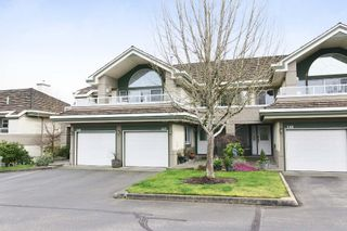 """Photo 1: 147 4001 OLD CLAYBURN Road in Abbotsford: Abbotsford East Townhouse for sale in """"CEDAR SPRINGS"""" : MLS®# F1439448"""