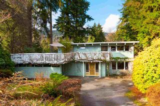 Photo 1: 819 BURLEY Drive in West Vancouver: Sentinel Hill House for sale : MLS®# R2546413