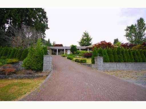 Photo 1: Photos: 1005 HIGHLAND Drive in West Vancouver: British Properties House for sale : MLS®# V862971