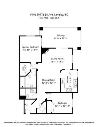 "Photo 4: 106 20976 56 Avenue in Langley: Langley City Condo for sale in ""RiverWalk"" : MLS®# R2539778"