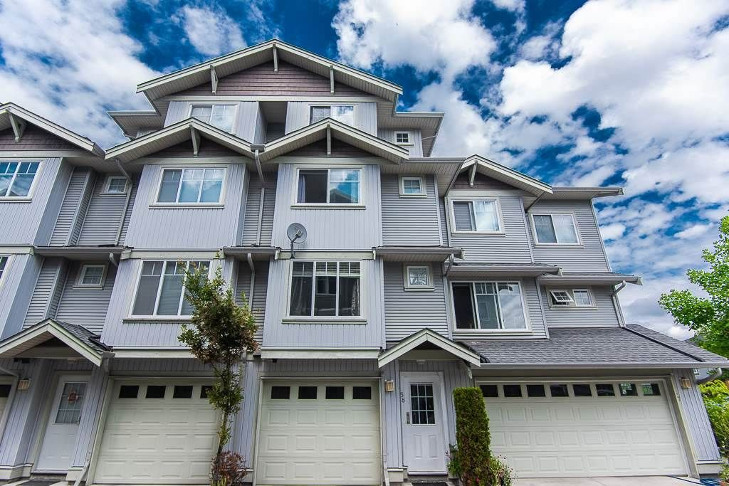 "Main Photo: 58 12040 68 Avenue in Surrey: West Newton Townhouse for sale in ""Terrane"" : MLS®# R2450050"