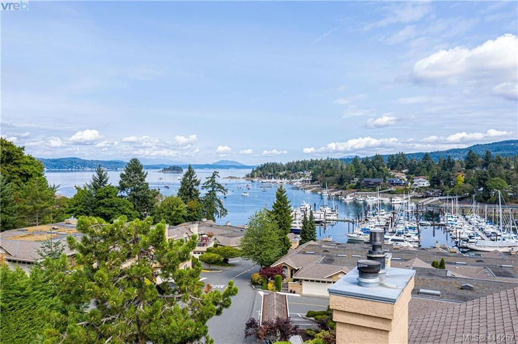 Stunning views of Brentwood Bay and the marina