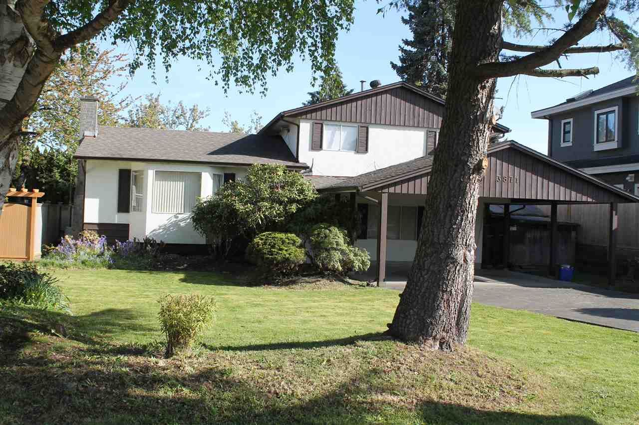 Main Photo: 3871 SPRINGFIELD DRIVE in : Steveston North House for sale : MLS®# R2059169