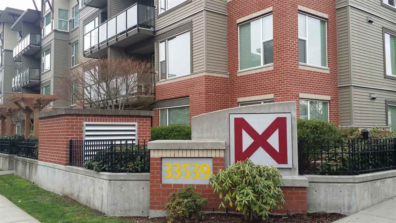 "Main Photo: 201 33538 MARSHALL Road in Abbotsford: Central Abbotsford Condo for sale in ""The Crossing"" : MLS®# R2159862"