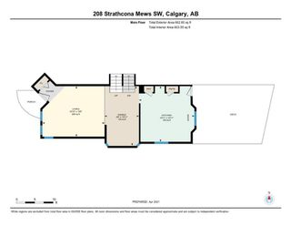 Photo 36: 208 Strathcona Mews SW in Calgary: Strathcona Park Detached for sale : MLS®# A1094826