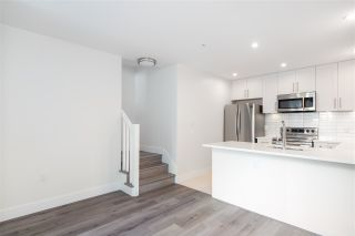 """Photo 4: 104 217 CLARKSON Street in New Westminster: Downtown NW Townhouse for sale in """"Irving Living"""" : MLS®# R2591819"""