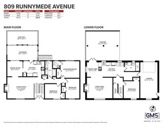 Photo 40: 809 RUNNYMEDE Avenue in Coquitlam: Coquitlam West House for sale : MLS®# R2600920