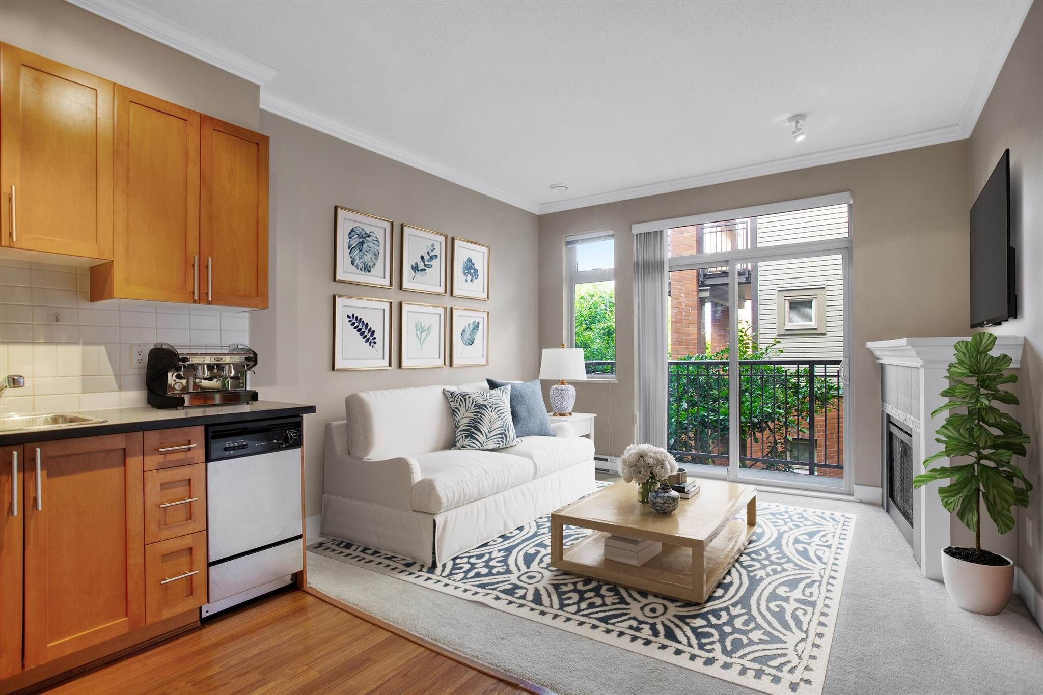 """Main Photo: 221 2250 WESBROOK Mall in Vancouver: University VW Condo for sale in """"Chaucer Hall"""" (Vancouver West)  : MLS®# R2594557"""