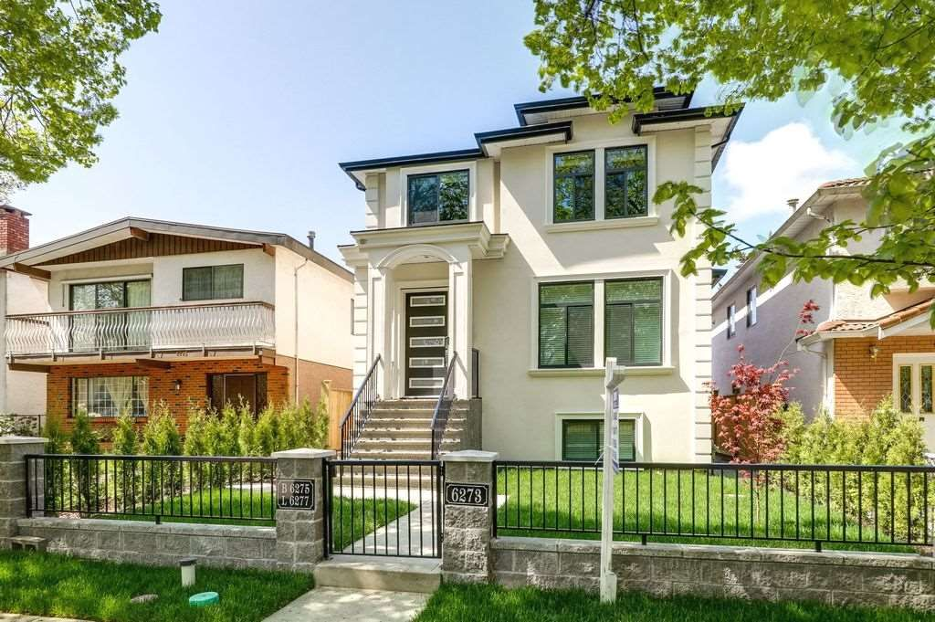 Main Photo: 6273 ST. CATHERINES STREET in Vancouver: Fraser VE House for sale (Vancouver East)  : MLS®# R2261784