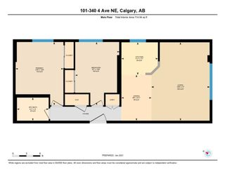 Photo 18: 101 340 4 Avenue NE in Calgary: Crescent Heights Apartment for sale : MLS®# A1059689