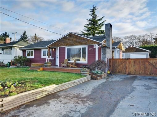 Main Photo: 4091 Borden St in VICTORIA: SE Lake Hill House for sale (Saanich East)  : MLS®# 720229