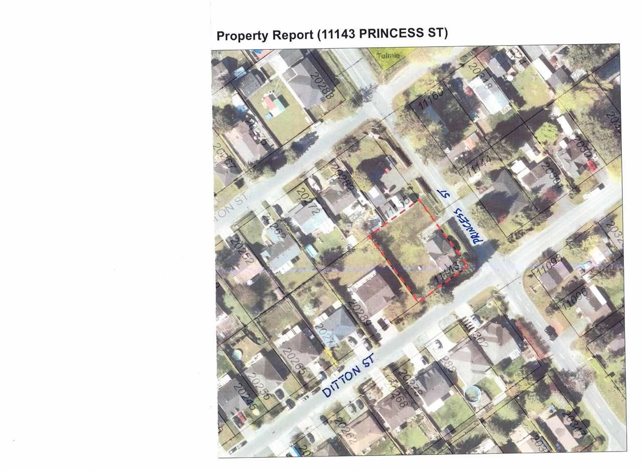 Main Photo: 11143 PRINCESS Street in Maple Ridge: Southwest Maple Ridge House for sale : MLS®# R2558600