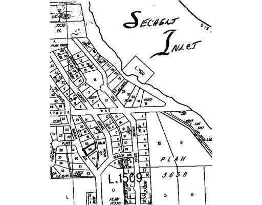 Main Photo: LOT 44 FAIRWAY AV in Sechelt: Sechelt District Land for sale (Sunshine Coast)  : MLS®# V783389