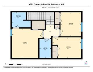Photo 49: 4791 CRABAPPLE Run in Edmonton: Zone 53 House Half Duplex for sale : MLS®# E4235822