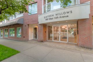 "Photo 8: 304 789 W 16TH Avenue in Vancouver: Fairview VW Condo for sale in ""Sixteen Willows"" (Vancouver West)  : MLS®# R2474064"