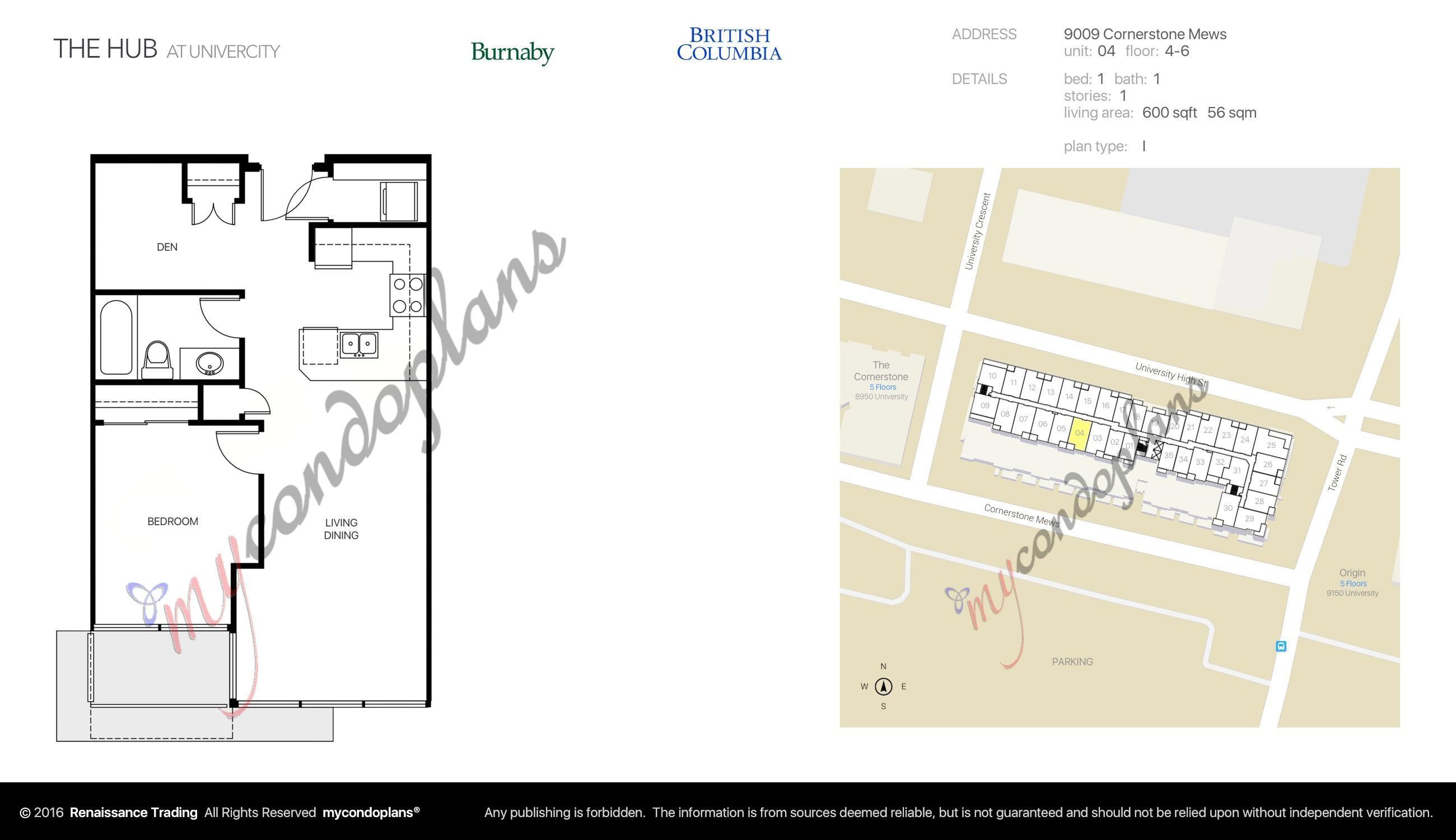 """Main Photo: 504 9009 CORNERSTONE Mews in Burnaby: Simon Fraser Univer. Condo for sale in """"THE HUB"""" (Burnaby North)  : MLS®# R2622335"""
