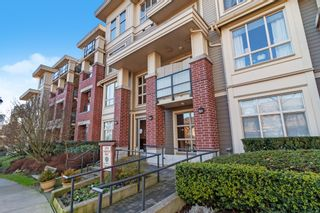 "Photo 1: 305 270 FRANCIS Way in New Westminster: Fraserview NW Condo for sale in ""THE GROVE AT VICTORIA HILL"" : MLS®# R2532865"