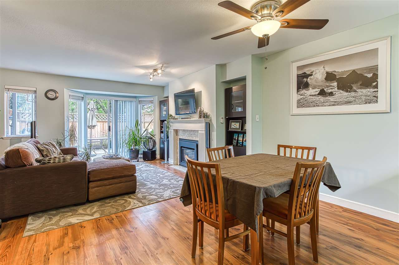 """Photo 2: Photos: 6 1215 BRUNETTE Avenue in Coquitlam: Maillardville Townhouse for sale in """"Place Fountaine Bleu"""" : MLS®# R2407958"""
