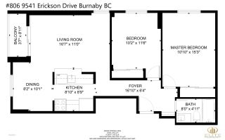 """Photo 24: 806 9541 ERICKSON Drive in Burnaby: Sullivan Heights Condo for sale in """"ERICKSON TOWER"""" (Burnaby North)  : MLS®# R2578877"""