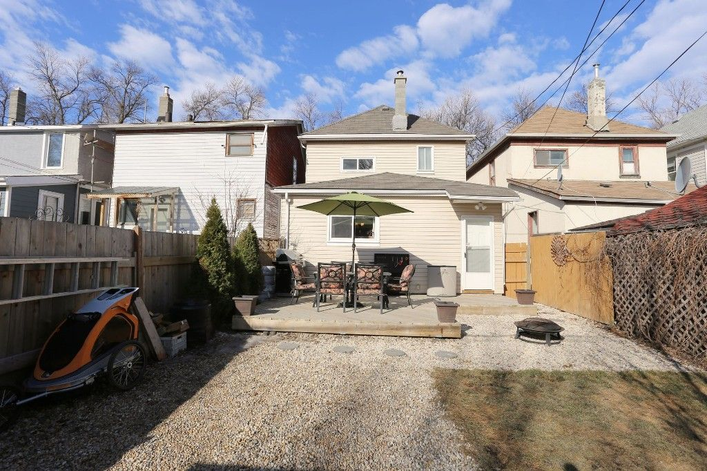 Photo 35: Photos: 375 Toronto Street in WINNIPEG: West End Single Family Detached for sale (West Winnipeg)  : MLS®# 1508111