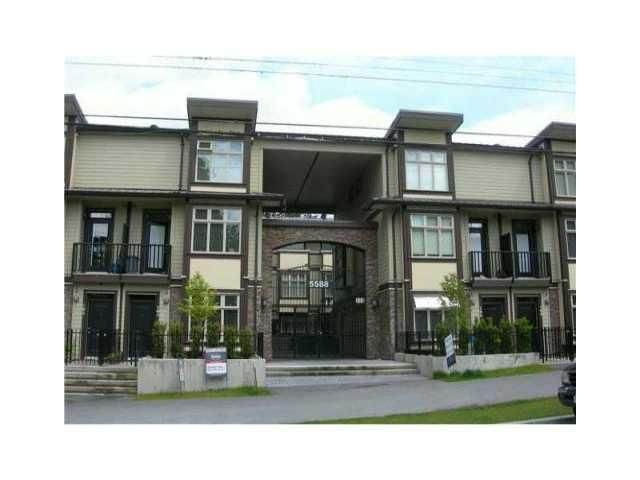 Main Photo: # 212 5588 PATTERSON AV in Burnaby: Central Park BS Townhouse for sale (Burnaby South)  : MLS®# V989766