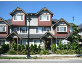 """Photo 1: 37 7733 HEATHER Street in Richmond: McLennan North Townhouse for sale in """"HEARTSTONE"""" : MLS®# V638024"""
