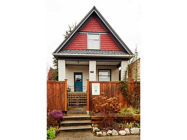 Main Photo: 233 West 6th Ave in Vancouver: Cambie Village House for sale : MLS®# V1104272