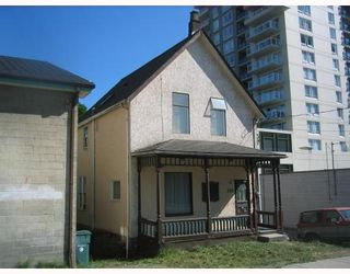 Photo 1: 520 CARNARVON Street in New_Westminster: Downtown NW House for sale (New Westminster)  : MLS®# V777854