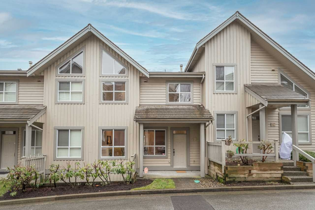 """Main Photo: 513 1485 PARKWAY Boulevard in Coquitlam: Westwood Plateau Townhouse for sale in """"SILVER OAK"""" : MLS®# R2545061"""
