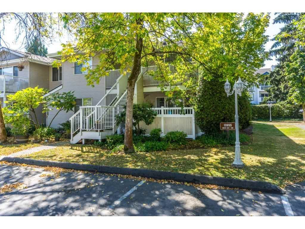 """Main Photo: 304 13955 72 Avenue in Surrey: East Newton Townhouse for sale in """"Newton Park One"""" : MLS®# R2102777"""