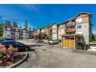 """Photo 1: 205 2581 LANGDON Street in Abbotsford: Abbotsford West Condo for sale in """"Cobblestone"""" : MLS®# R2381074"""