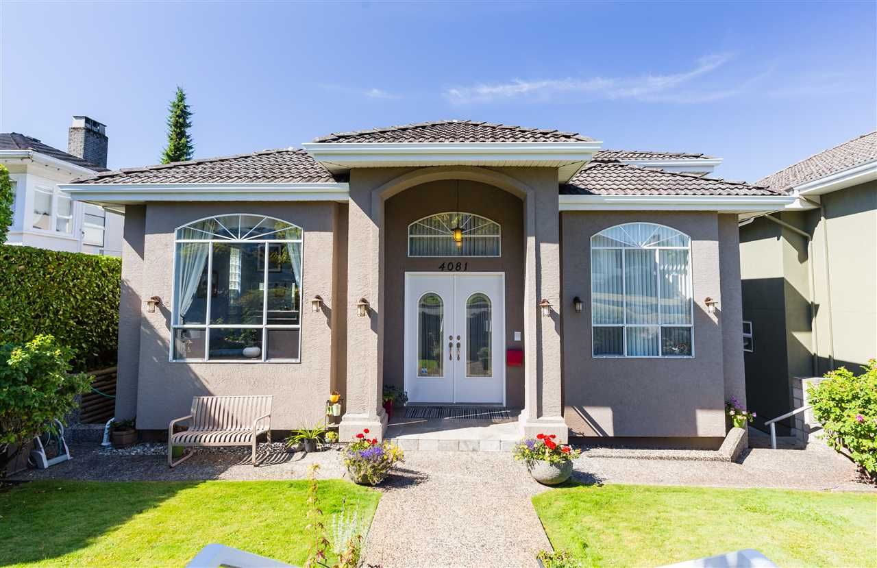 Main Photo: 4081 TRINITY STREET in Burnaby: Vancouver Heights House for sale (Burnaby North)  : MLS®# R2209089