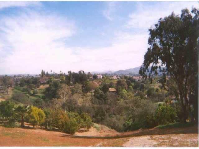 Main Photo: SOUTHEAST ESCONDIDO Lot / Land for sale: 0 Vista Grande Glen in Escondido