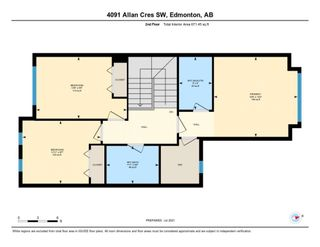 Photo 30: 4091 ALLAN Crescent in Edmonton: Zone 56 House Half Duplex for sale : MLS®# E4255510