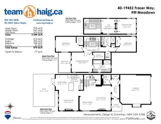 """Photo 40: 40 19452 FRASER Way in Pitt Meadows: South Meadows Townhouse for sale in """"SHORELINE"""" : MLS®# R2511047"""