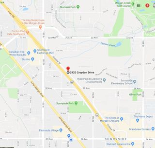 """Photo 2: 2920 CROYDON Drive in Surrey: Grandview Surrey Land for sale in """"Rosemary Hghts Bus. Park & Live Work Area NCP"""" (South Surrey White Rock)  : MLS®# R2328956"""