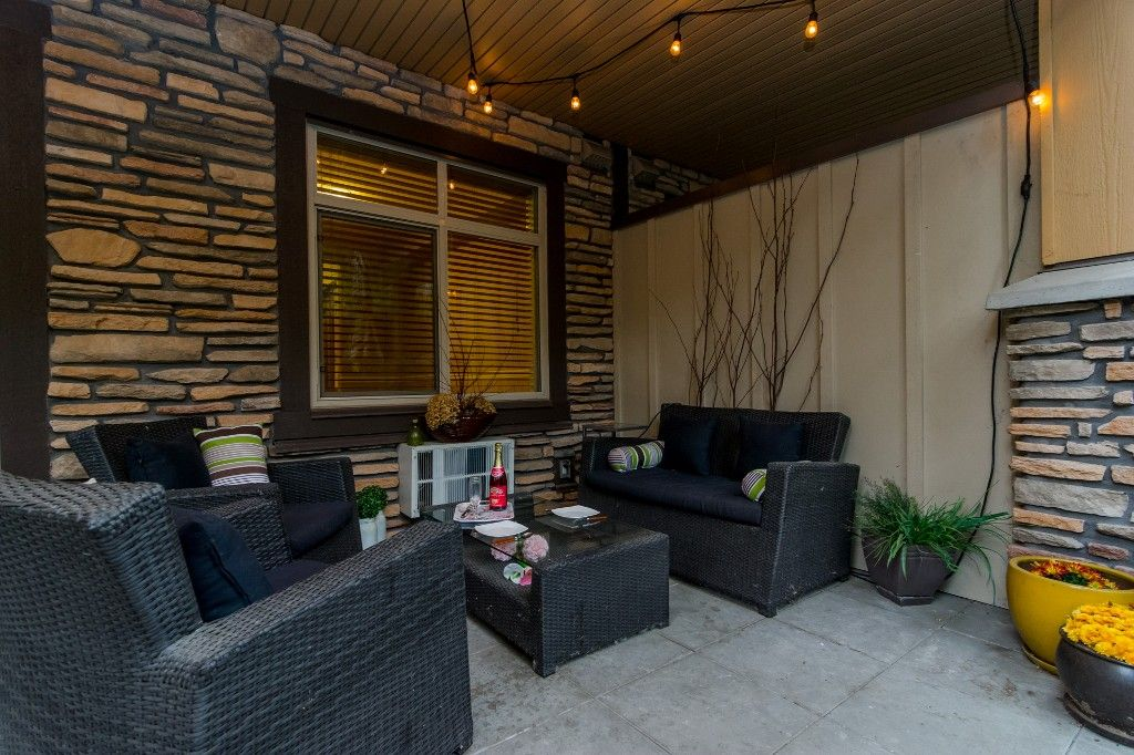 """Photo 34: Photos: 155 8328 207A Street in Langley: Willoughby Heights Condo for sale in """"YORKSON CREEK"""" : MLS®# R2201226"""
