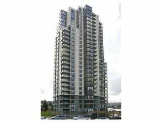 """Photo 1: 1301 288 UNGLESS Way in Port Moody: North Shore Pt Moody Condo for sale in """"THE CRESCENDO"""" : MLS®# V825617"""