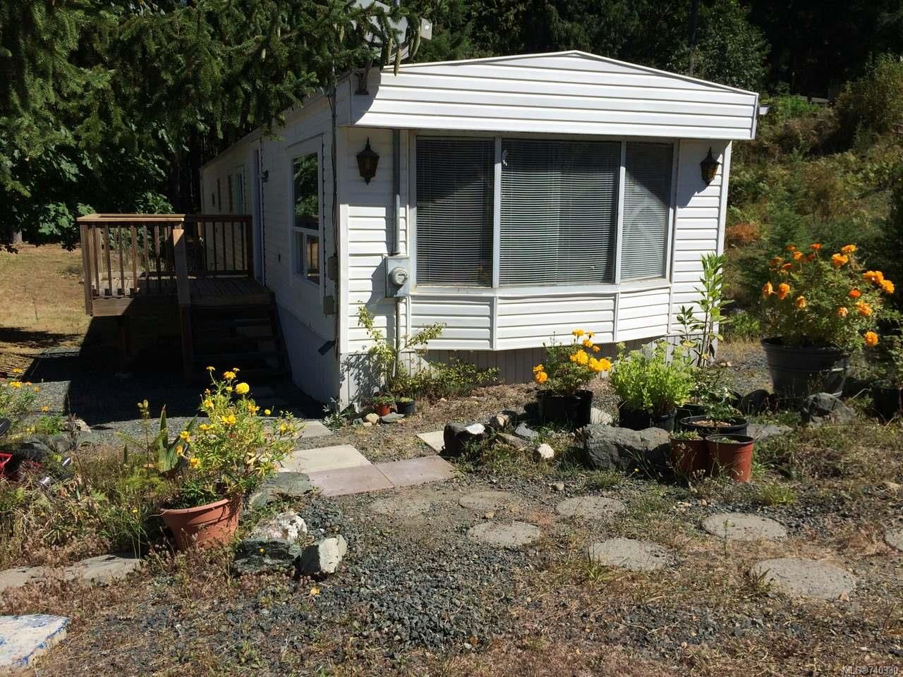 Main Photo: 3877 MELROSE ROAD in HILLIERS: PQ Errington/Coombs/Hilliers Manufactured Home for sale (Parksville/Qualicum)  : MLS®# 740330