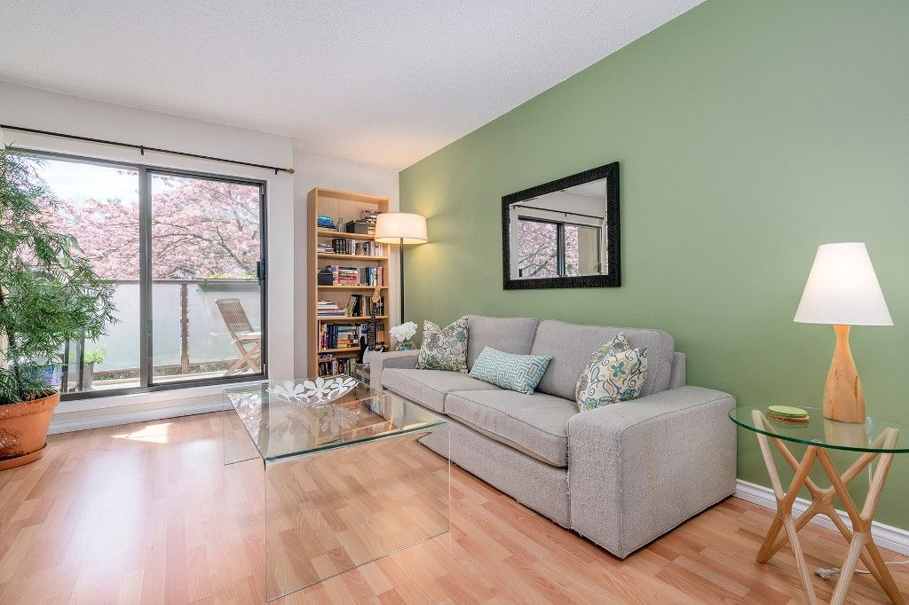 Main Photo: 213 2150 BRUNSWICK STREET in Vancouver: Mount Pleasant VE Condo for sale (Vancouver East)  : MLS®# R2161817