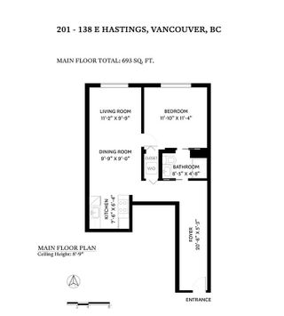 """Photo 21: 201 138 E HASTINGS Street in Vancouver: Downtown VE Condo for sale in """"SEQUEL 138"""" (Vancouver East)  : MLS®# R2620123"""